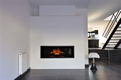 Cheminee Ouverte by Cheminee Moderne Foyer Ouvert
