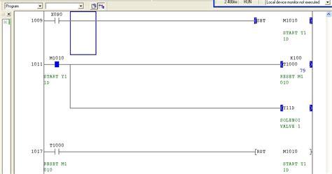 reset k1000 technicainthai program plc พ นฐาน set and reset