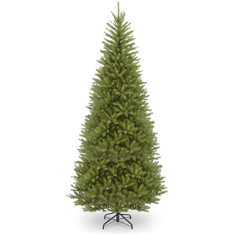 14 ft tree national tree company 14 ft dunhill fir slim tree with