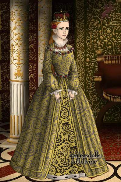 Dres Elizabeth coronation dress elizabeth by artemisandapollo on deviantart