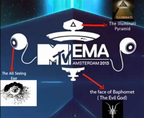 mtv illuminati illuminati symbolism at 2013 mtv emas illuminatiwatcher
