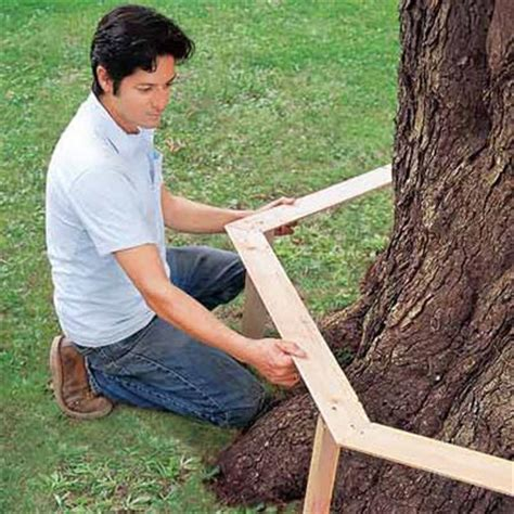 create  template   build  tree bench   house