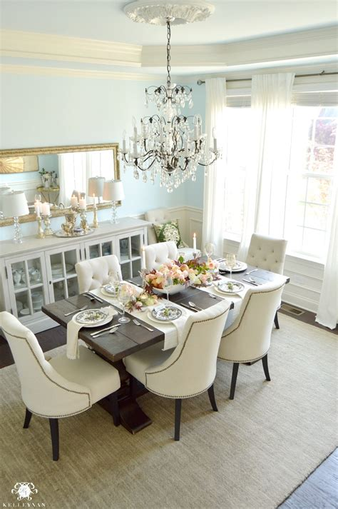 blue dining room table an honorary s day table kelley nan