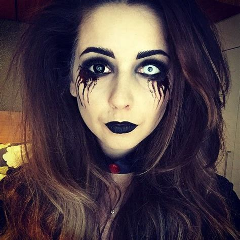 grinch makeup tutorial zoella zoella she looked scary youtubers pinterest