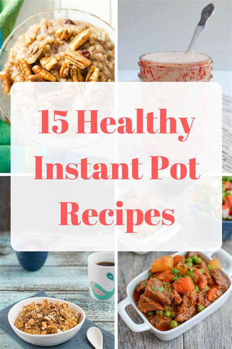printable recipes for instant pot 15 healthy instant pot recipes mom saves money