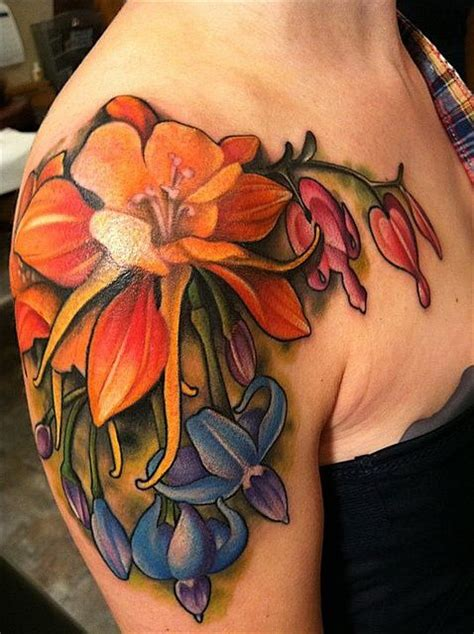 colour flower tattoo designs best arm designs our top 5 picks tattoos of