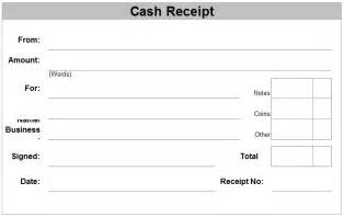 Template For Receipts by Free Receipt Forms