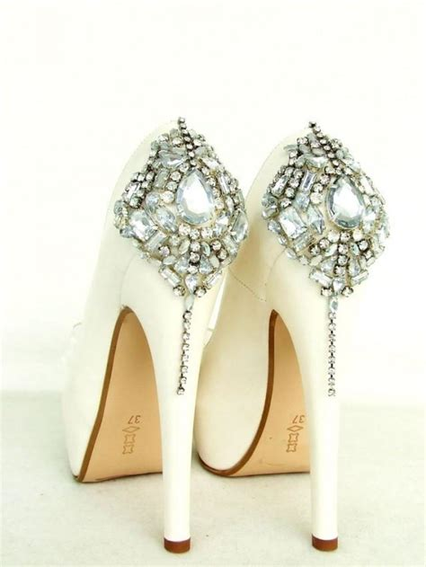 ivory bridal shoes cinderella s shoes swarovski wedding shoes