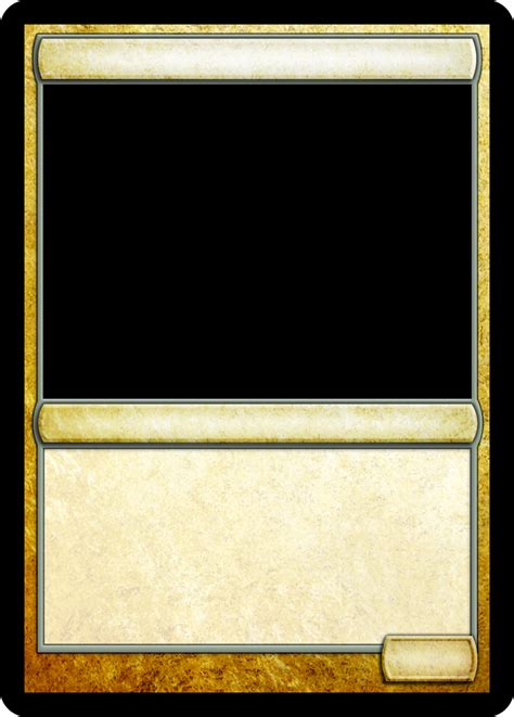 mtg proxy template