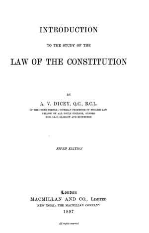 the introductory section of the us constitution introduction to the study of the law of the constitution