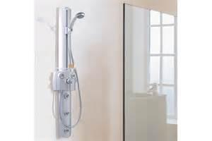 interaktiv shower panel