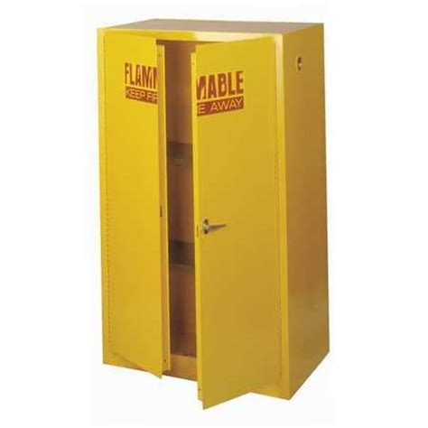 60 Gallon Flammable Storage Cabinet by Sandusky Lee Flammable Safety Cabinet 60 Gal Yellow