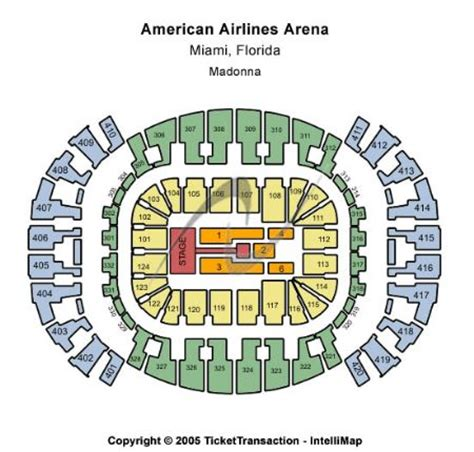american airlines arena floor plan americanairlines arena tickets and americanairlines arena