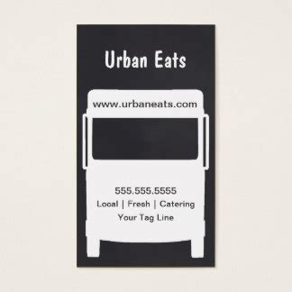 food truck business card template free food truck business cards templates zazzle