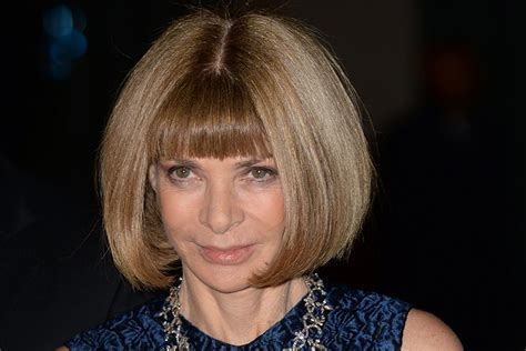 Wintour And Tess Daly by Top 30 Hair Icons