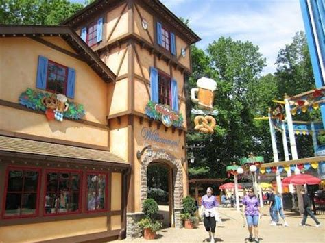garden in front of carousel germany picture of busch