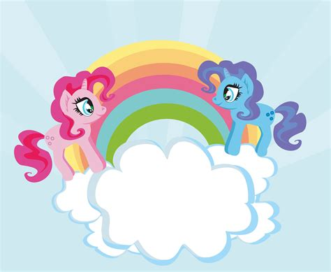 cute unicorns  rainbow custom wallpaper