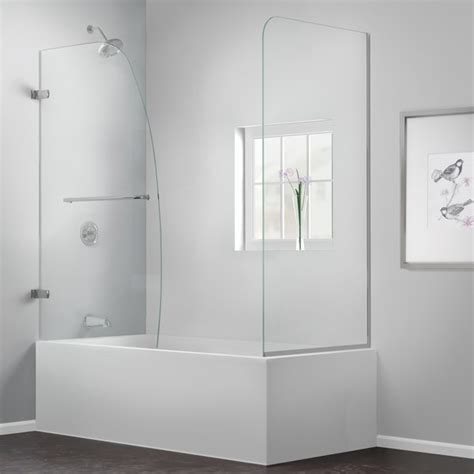 Glass Doors For Bathtub Homesfeed Glass Door For Bathtub Shower