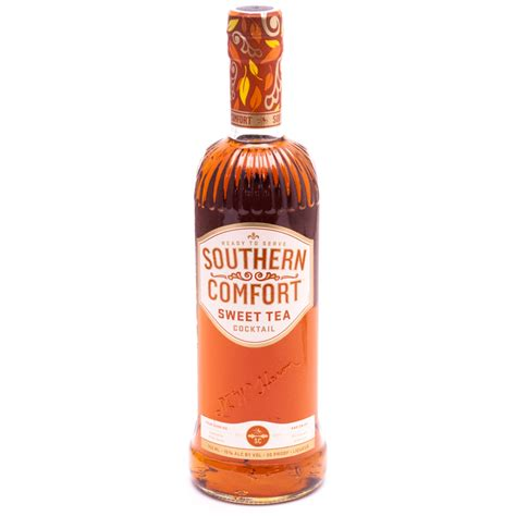 drinks with southern comfort southern comfort sweet tea cocktail 30 proof 750ml