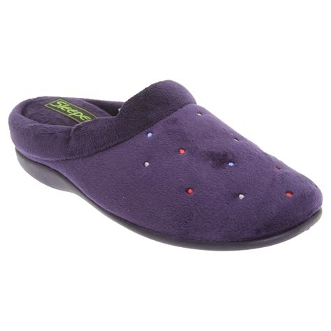 comfort slippers sleepers womens comfort memory foam