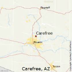 carefree arizona map best places to live in carefree arizona