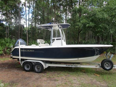 used sea hunt boats for sale in fl 2012 used sea hunt triton 210 center console fishing boat