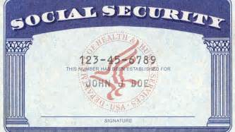 blank social security card template act now to save our social security offices