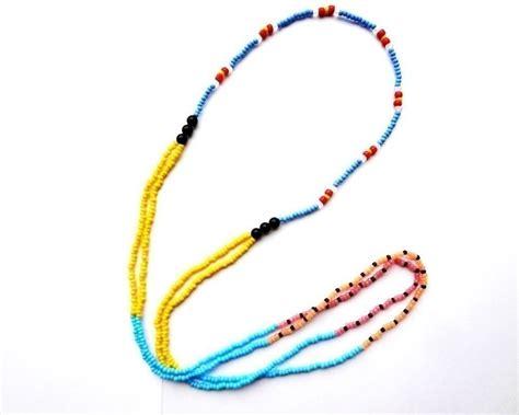 boho seed bead bracelet 183 a beaded necklace 183 jewelry on