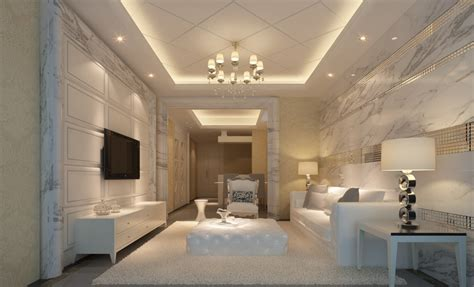 marble walls living room picture