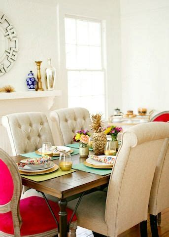 dining space featuring eclectic teal green dining chairs 1000 images about stylish dining rooms on pinterest