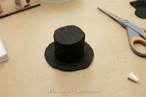 How To Make A Snowman Hat Out Of Construction Paper - tin can snowman by practically functional guest tutorial