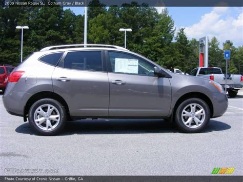 grey nissan rogue 2009 nissan rogue sl in gotham gray photo no 15931737