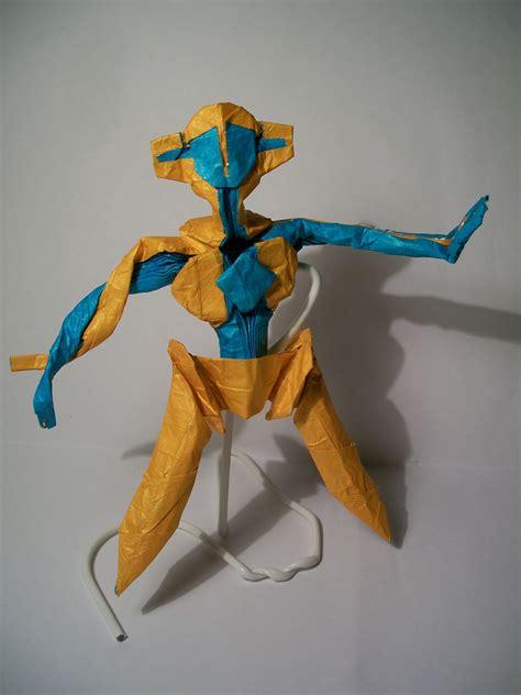 Origami Legendary - origami gotta fold em all
