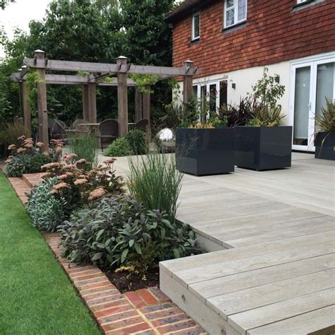 New Build Garden Ideas Best 25 Composite Decking Ideas On Pinterest