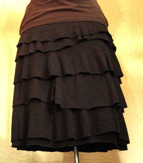 t shirt ruffle skirt pattern found amazing t shirt ruffle skirt tutorial making do