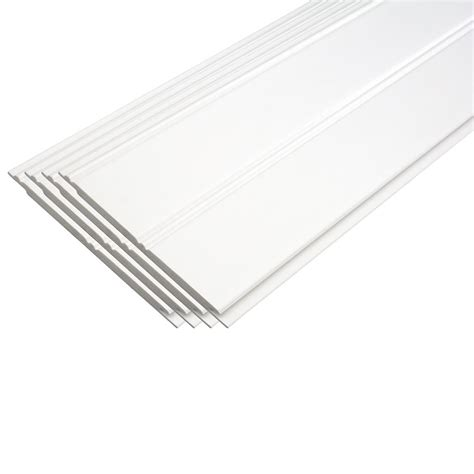 Composite Ceiling Planks Pvc Beadboard Planks White Excellent Durability No