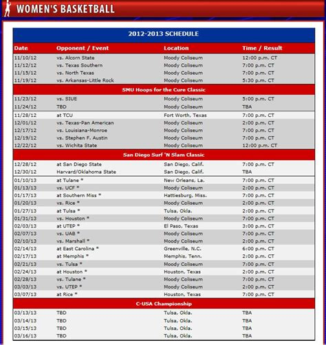 smu mustangs schedule new seasons begin this weekend for s and s
