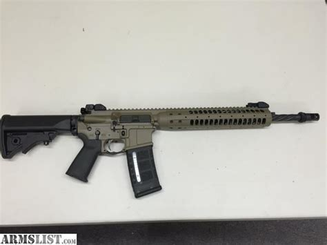 lwrc rail sections armslist for sale lwrc ic spr 5 56 223 fde with over
