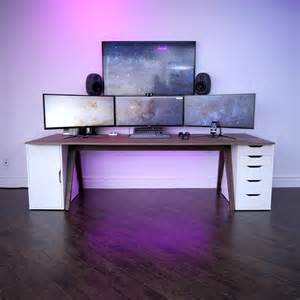 gaming desk setups best 25 gaming setup ideas on pc gaming setup