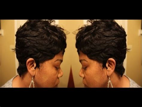 how to do27 piece short bowl cut hair how to do a 27 piece bowl cut part 1 short hairstyle 2013