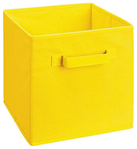 Closetmaid Products Closetmaid 58711 Cubeicals Fabric Drawer Yellow Kitchen