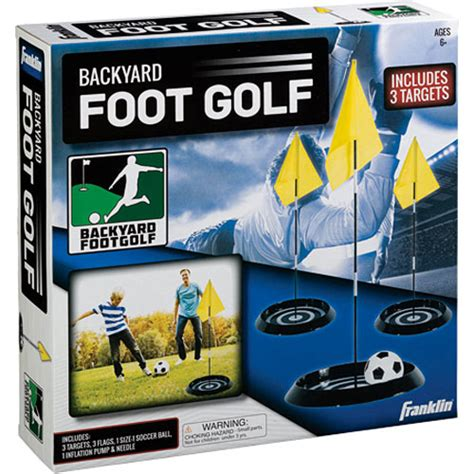 backyard golf set backyard foot golf set timbuk toys