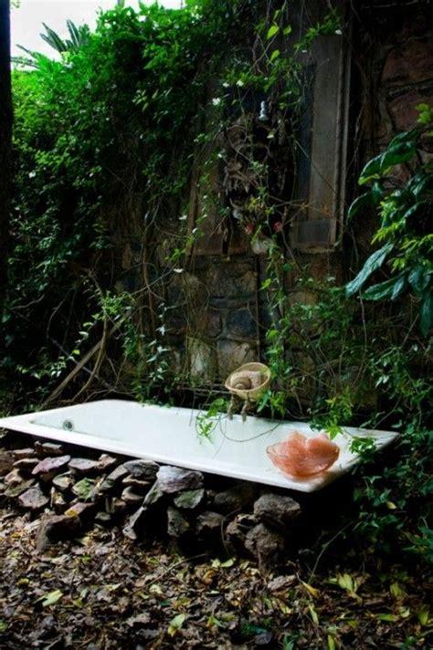 outside bathtub pin by dawn townsend on garden treasures pinterest