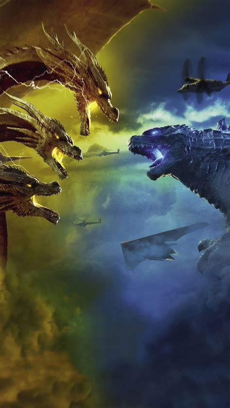 godzilla king   monsters final battle  wallpapers
