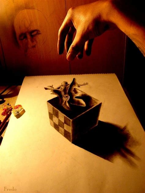 3d Drawing life like 3d drawing wladimir inostroza quest for the