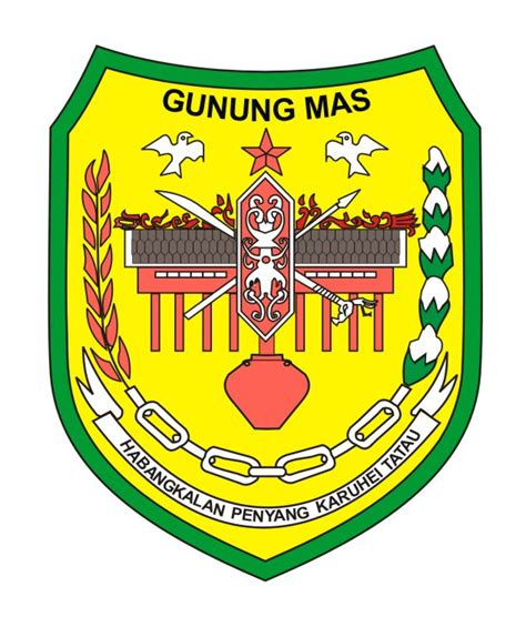 logovectorcdr logo kabupaten gunung mas