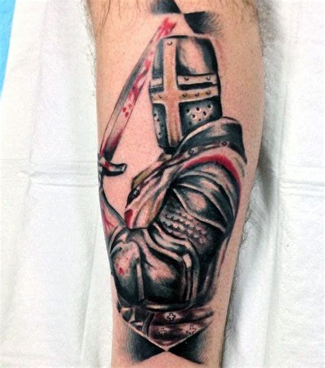 crusader tattoo designs top 80 best designs for brave ideas