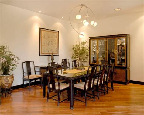 asian contemporary makeover asian dining room