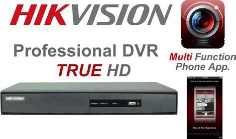 Dvr Hikvision 4ch Ds 7204 Hghi Turbo Hd Dvr 4ch hikvision turbo true hd dvr 4 dome 720p hd cctv