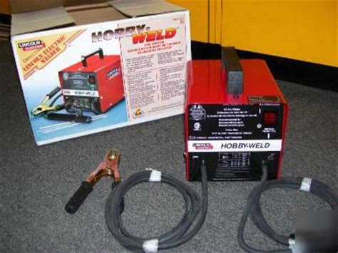 lincoln hobby welder new lincoln hobby weld arc welder
